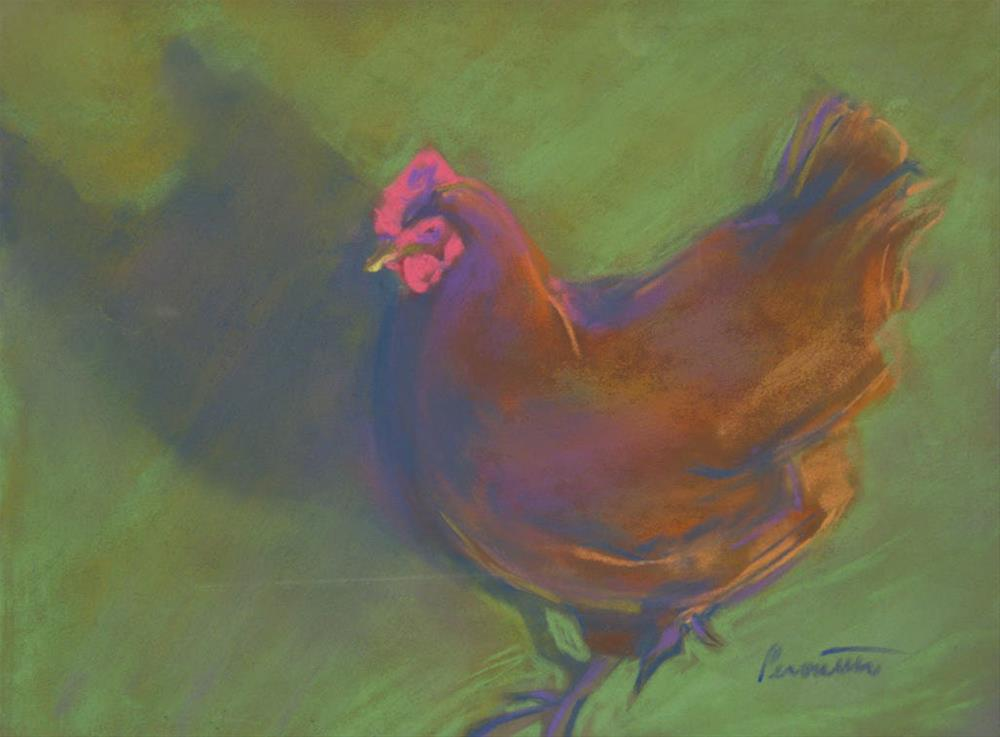 """Me and My Shadow"" original fine art by Sarah Peroutka"
