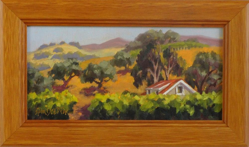 """""""Alexander Valley Sojourn"""" original fine art by Erin Dertner"""