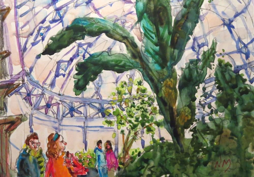 """sky's up"" original fine art by Nora MacPhail"