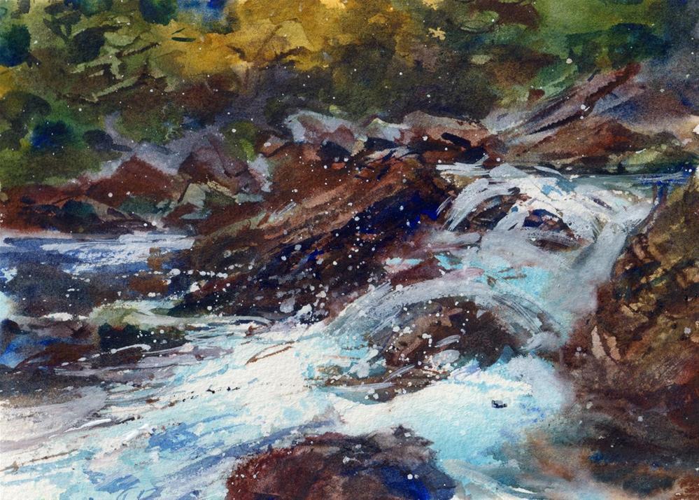 """The Forest Glen"" original fine art by Linda Henry"