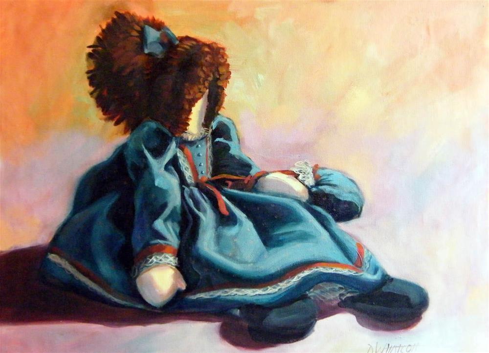 """""""Rag Doll"""" original fine art by Donna Whatcott Parsons"""