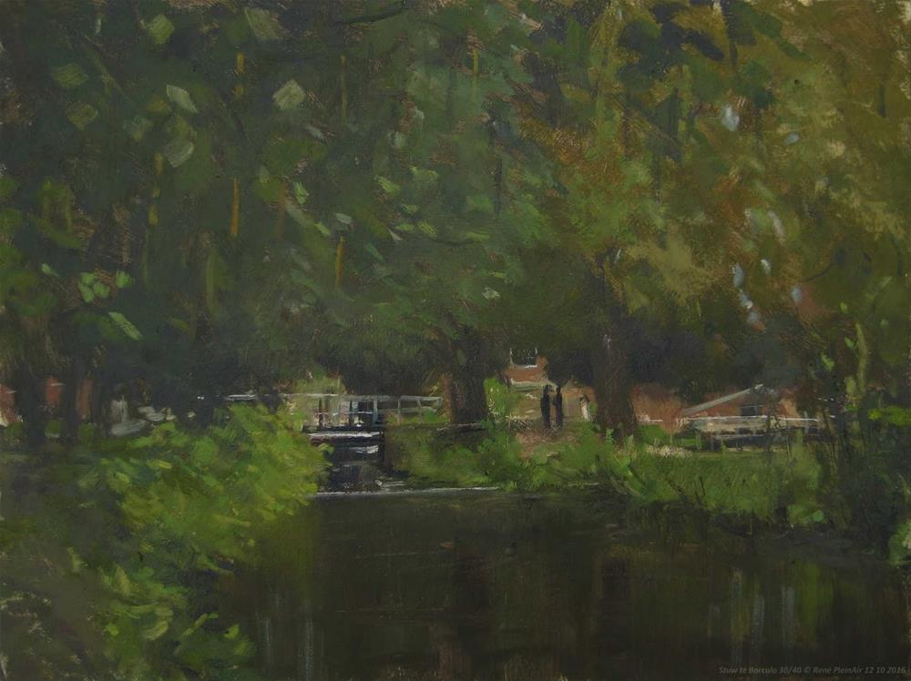 """Borculo, The Netherlands."" original fine art by René PleinAir"