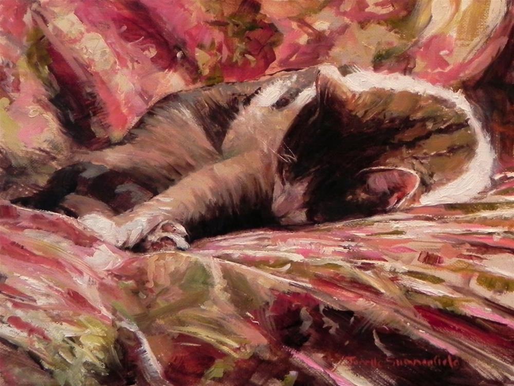 """Afternoon Nap"" original fine art by Jonelle Summerfield"