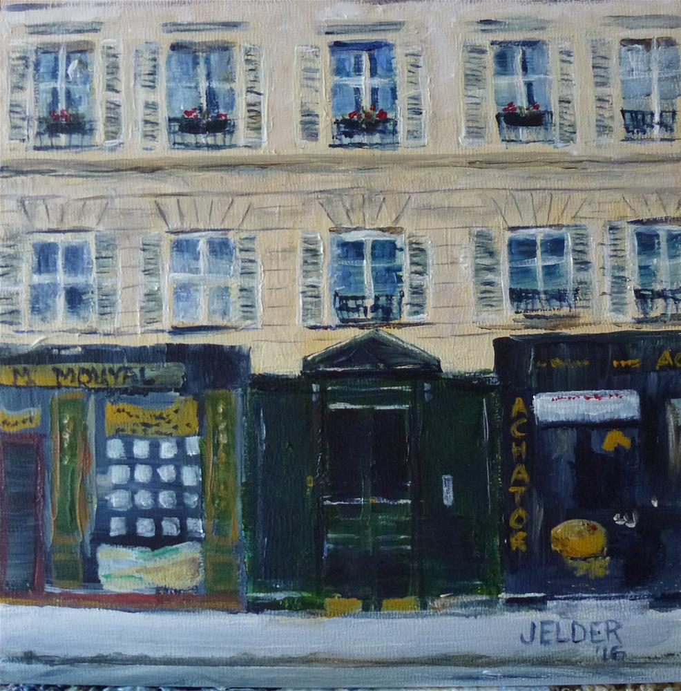 """Paris No. 104"" original fine art by Judith Elder"