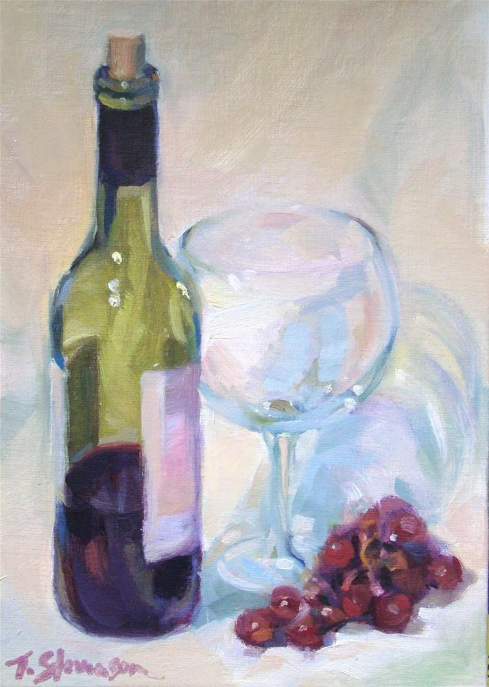 """Fruit of the Vine"" original fine art by Trish Stevenson"