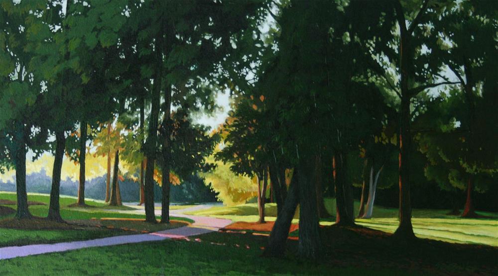 """Afternoon shadow"" original fine art by Setsuko Lawson"