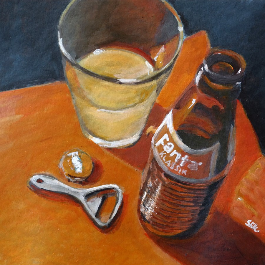 """1308 Taste Panel"" original fine art by Dietmar Stiller"