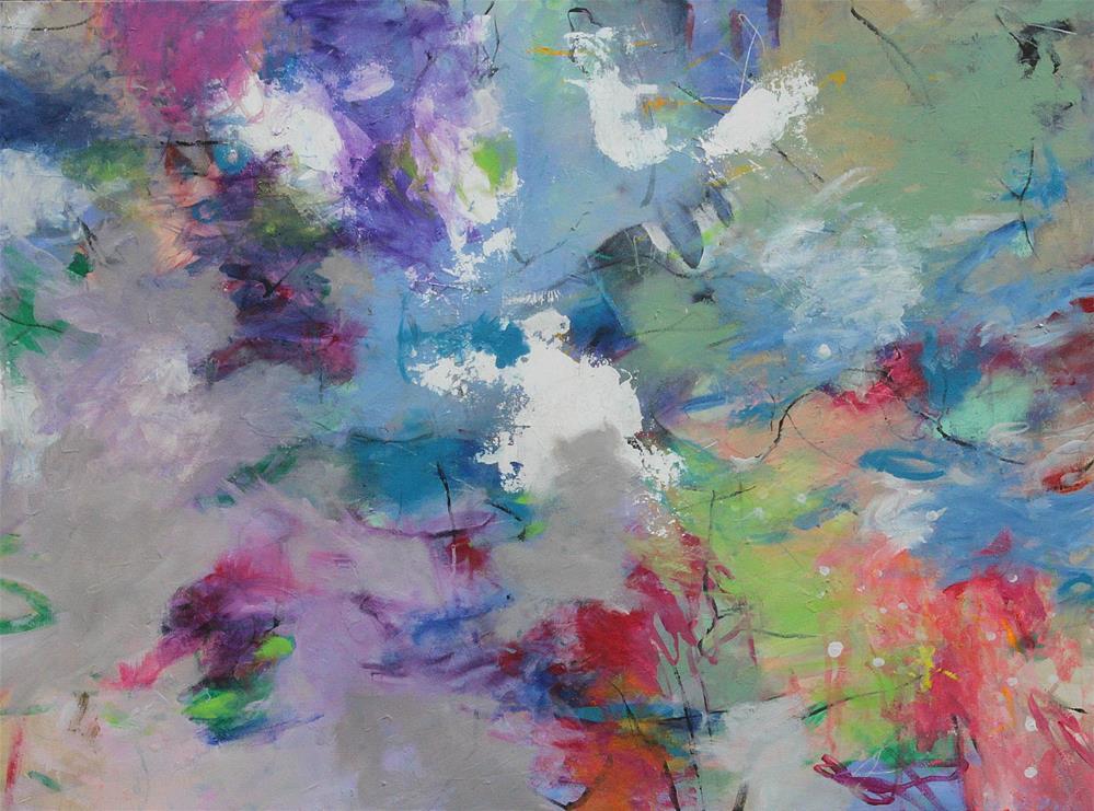 """Harmonies in the Air "" original fine art by Kerri Blackman"