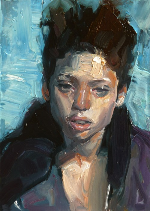 """Toil"" original fine art by John Larriva"