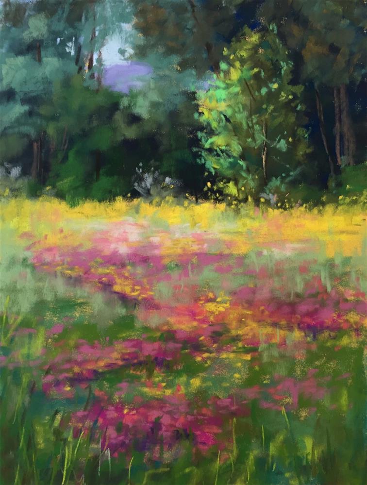 """Springtime"" original fine art by Sherri Cassell"