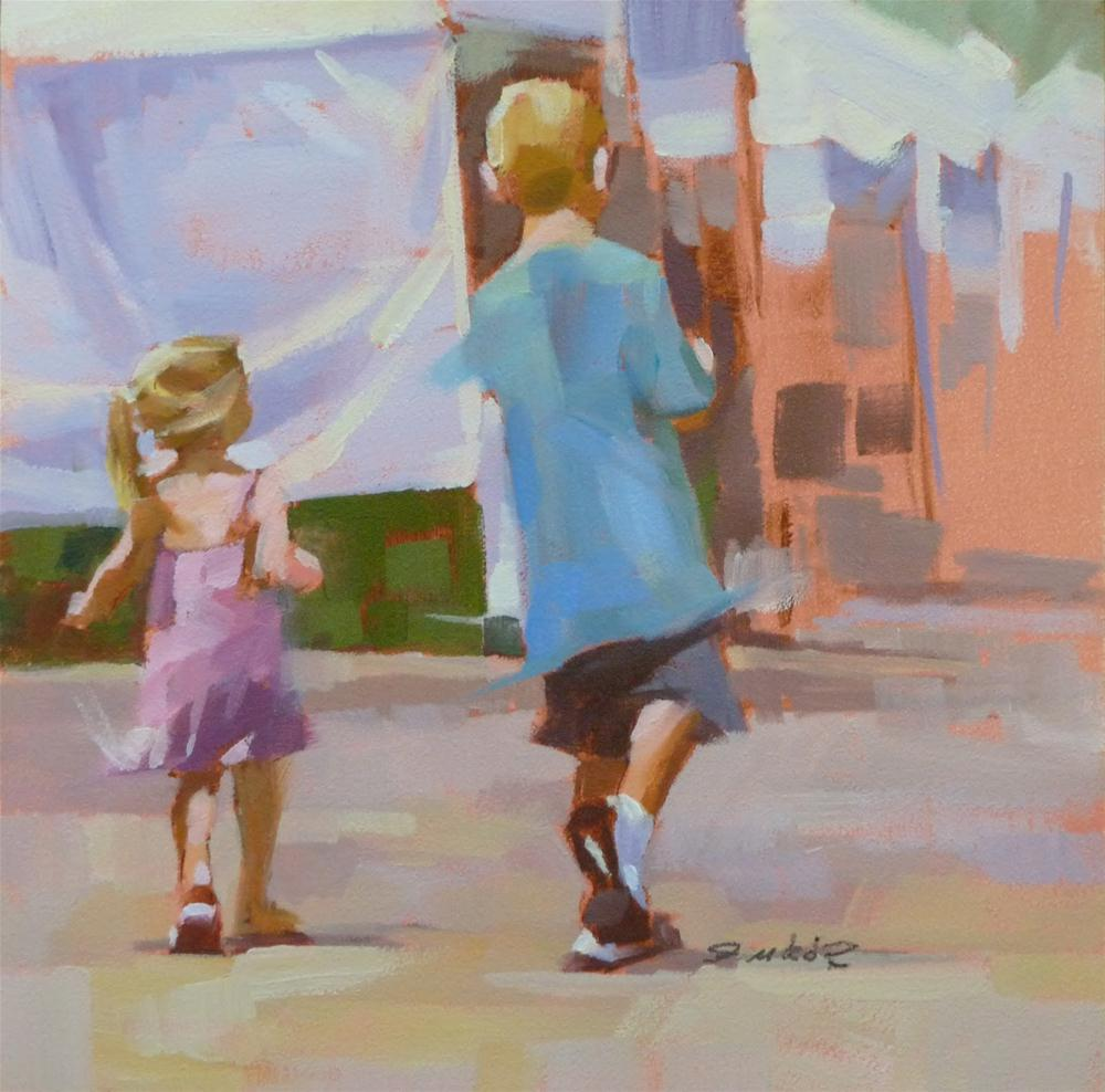 """With Big Brother"" original fine art by Ron Ferkol"