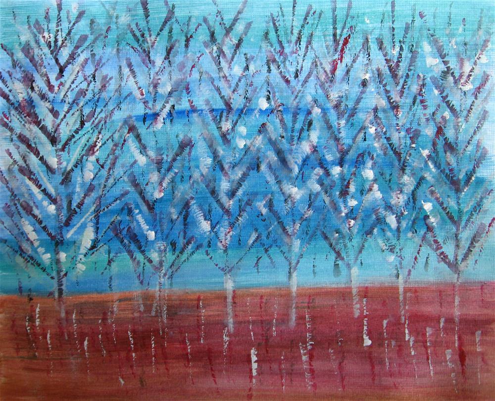 """Plantation"" original fine art by Alina Frent"