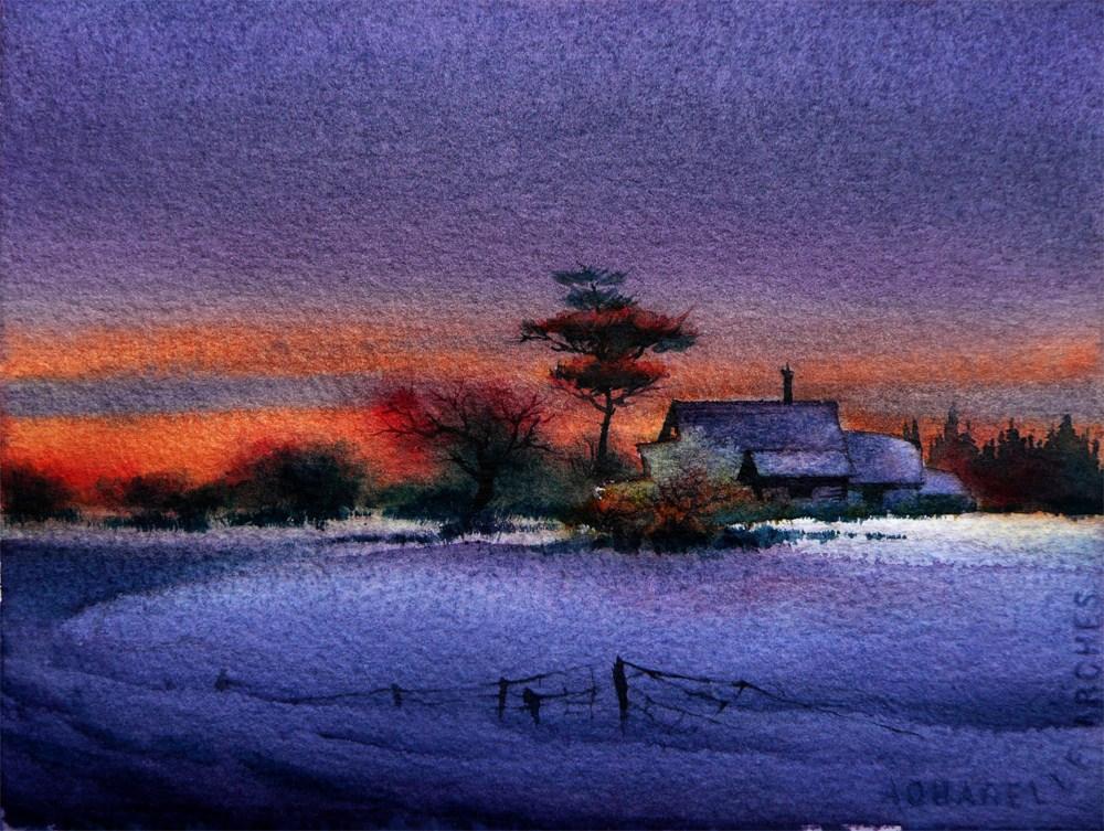 """""""Winter Mirage"""" original fine art by Arena Shawn"""