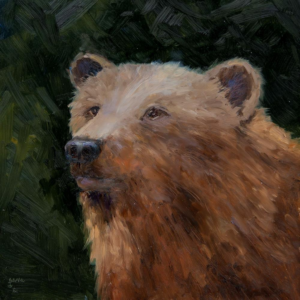 """Grizzly 399"" original fine art by Bonnie Bowne"