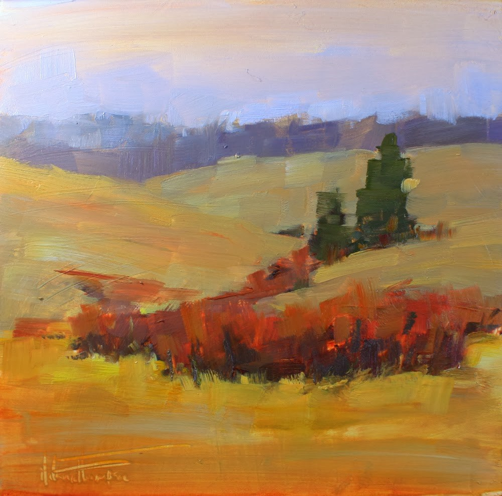 """""""Old Oregon Trail II"""" original fine art by Melanie Thompson"""