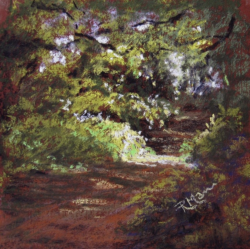 """Light Study 1"" original fine art by Ruth Mann"
