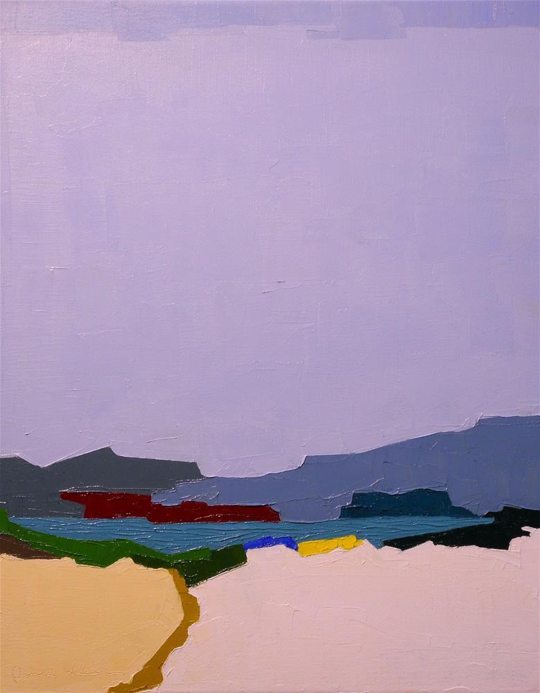 """Inlet"" original fine art by Donna Walker"
