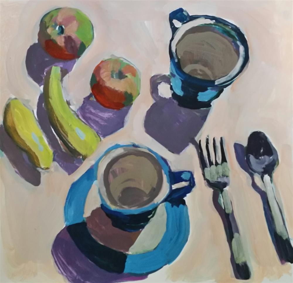 """Sunday Picnic"" original fine art by Liz Maynes"