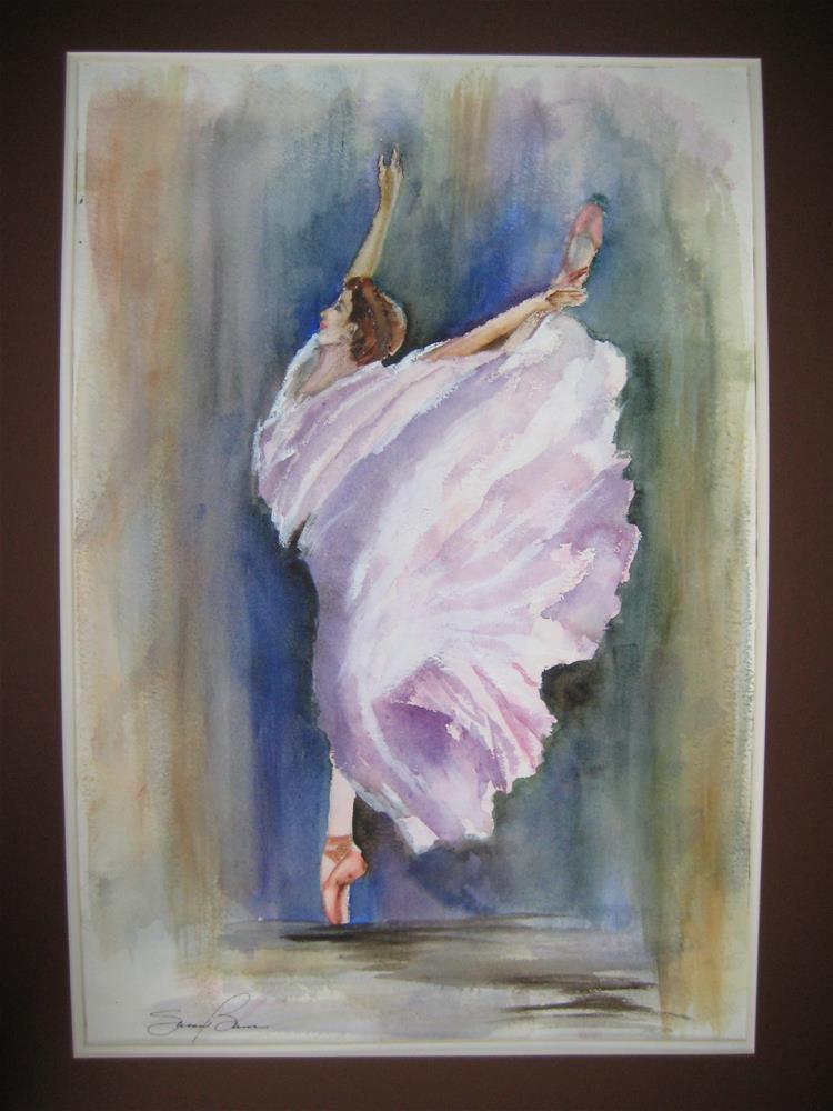 """""""Ballerina 2"""" original fine art by Susan Brens"""
