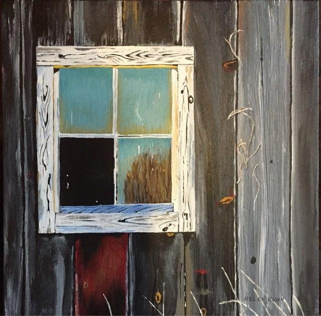"""Aged"" original fine art by Helen Kuhn"