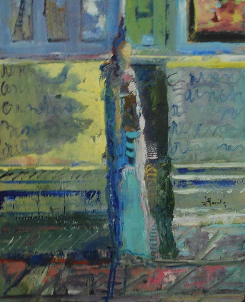 """""""No Agenda"""" original fine art by Deborah Harold"""
