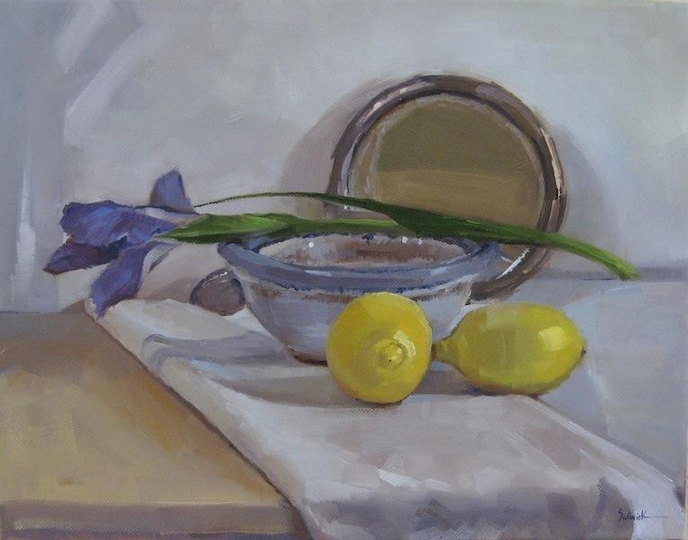 """Iris Still Life, Redux"" original fine art by Sarah Sedwick"