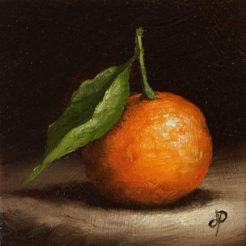 """Little Clem #3"" original fine art by Jane Palmer"