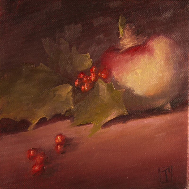 """Turnip Study 2"" original fine art by Lori Twiggs"