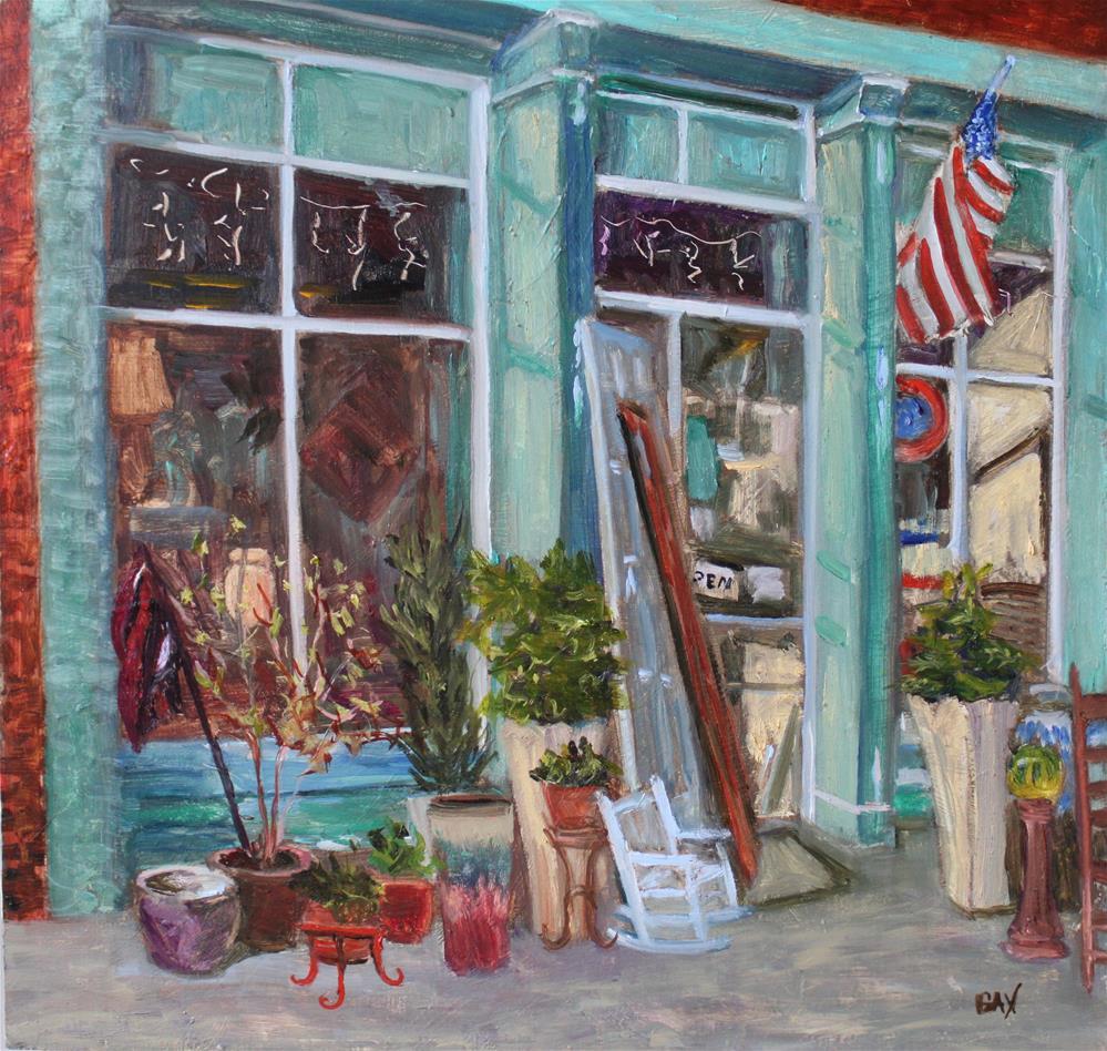 """""""JUNKIN in RIDGEWAY"""" original fine art by barbara yongue"""