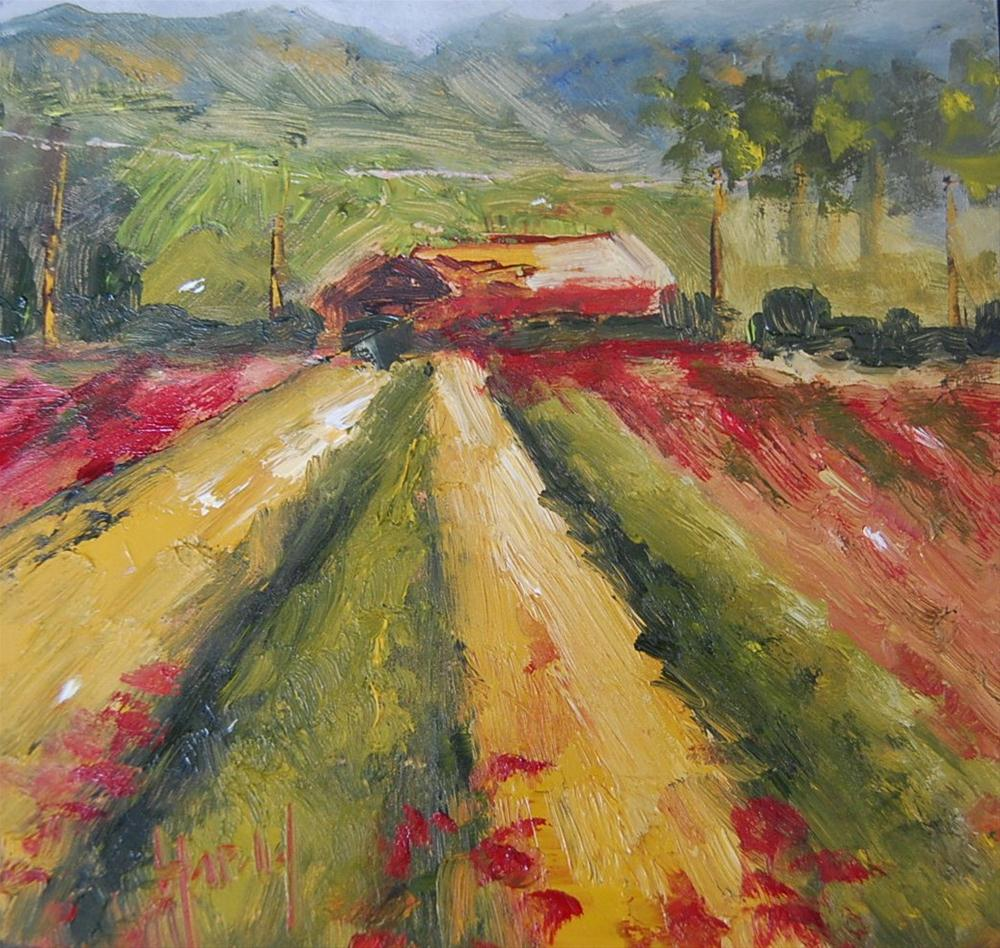 """""""Crops"""" original fine art by Deborah Harold"""