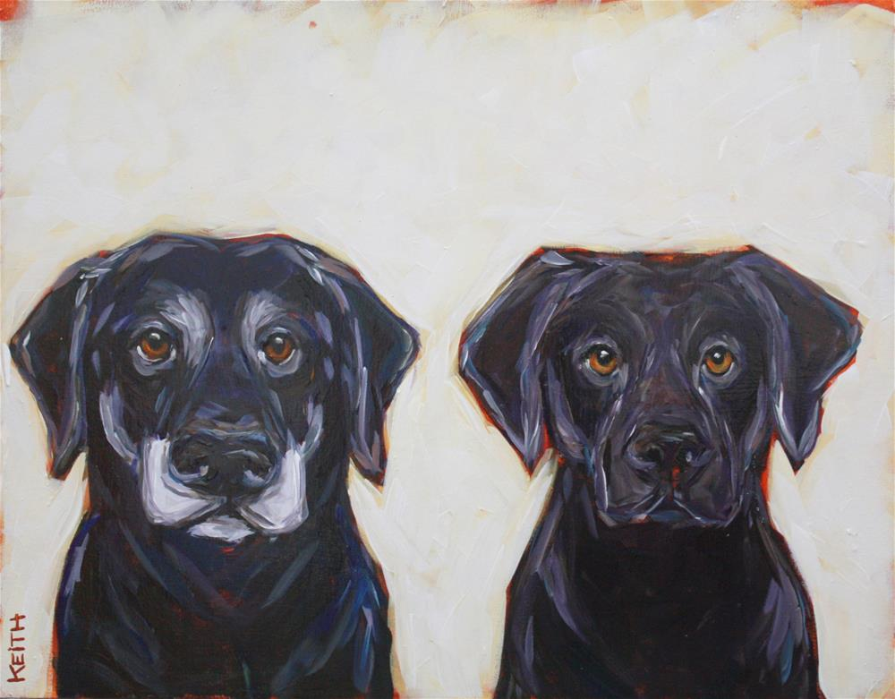 """Matsu & Echo"" original fine art by Kandice Keith"