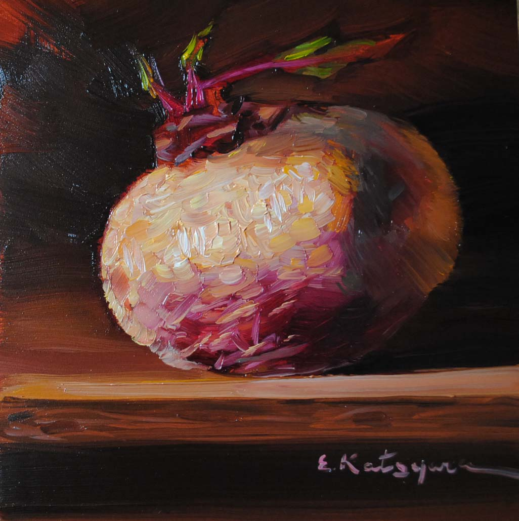 """Beet"" original fine art by Elena Katsyura"
