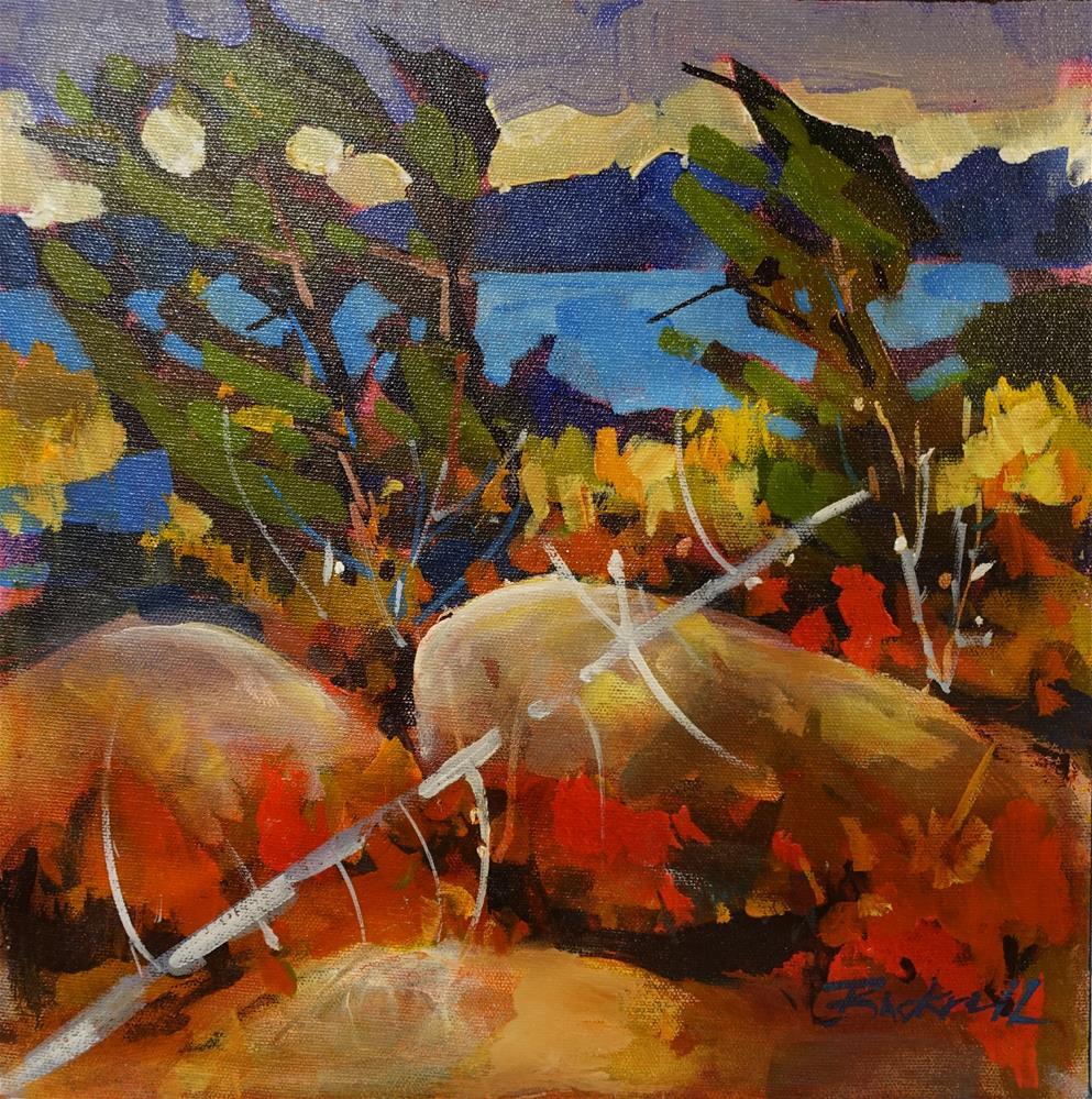 """""""Shore Breeze"""" original fine art by Brian Buckrell"""