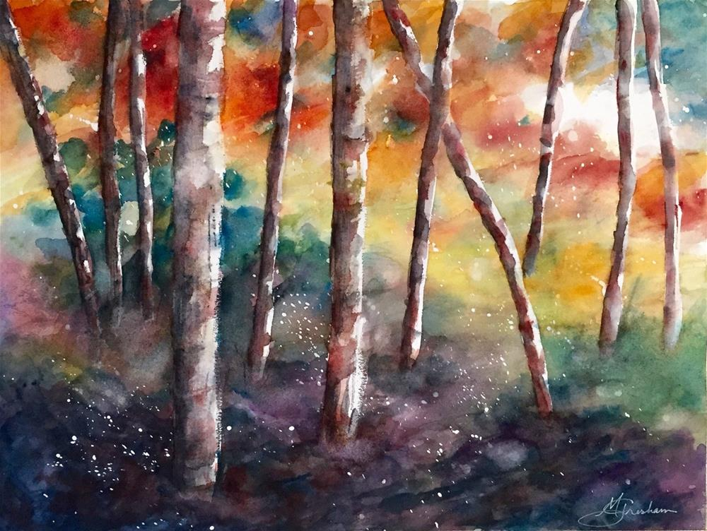 """Landscape Series 002"" original fine art by Melissa Gresham"