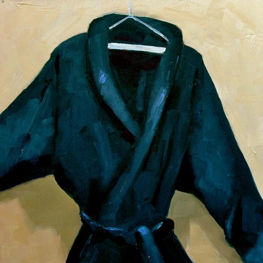 """HIS ROBE"" original fine art by Linda Popple"