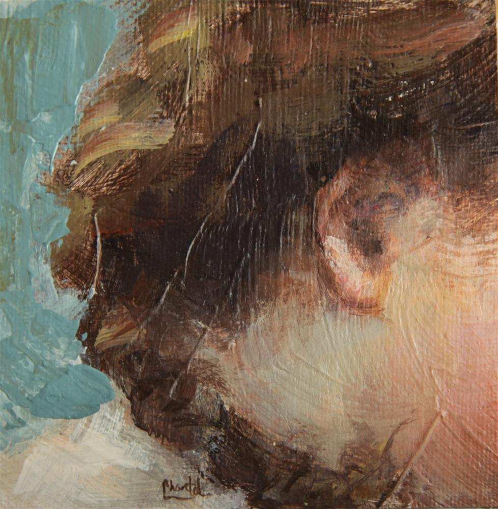 """Braided"" original fine art by Chantel Barber"