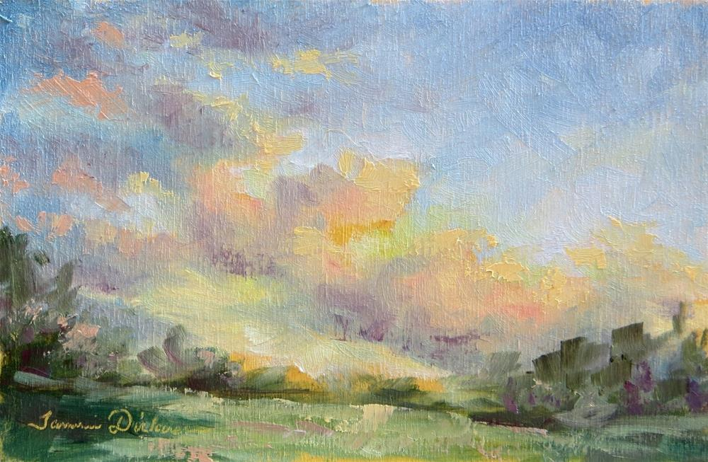 """Late Afternoon Light"" original fine art by Tammie Dickerson"