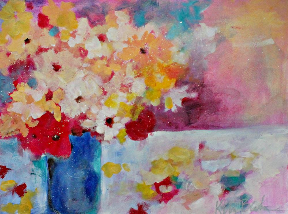 """Bouquet and Petals "" original fine art by Kerri Blackman"