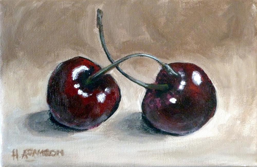 """""""En Garde"""" original fine art by Helene Adamson"""
