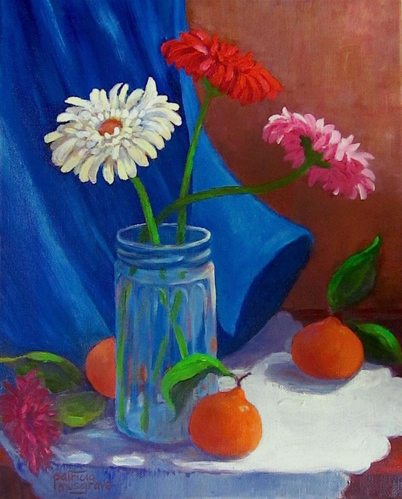 """Fruit 'n' Flowers"" original fine art by Patricia Musgrave"