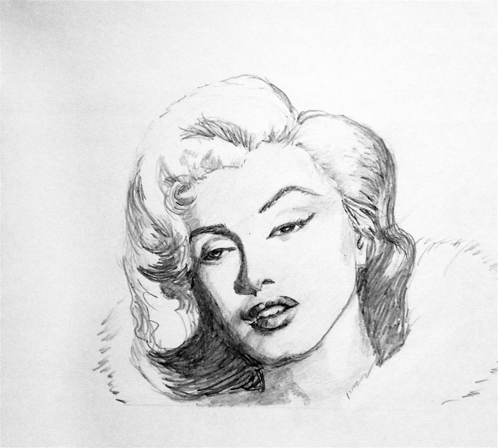 """The Most beautiful woman"" original fine art by Asha Shenoy S"