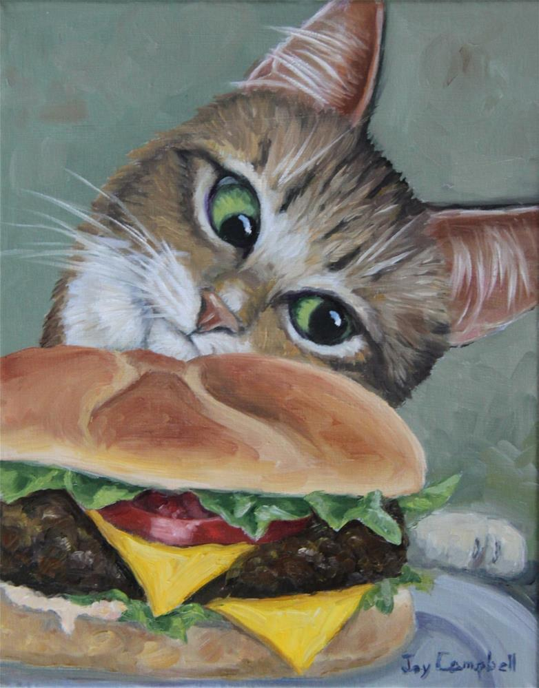 """Mmmmm"" original fine art by Joy Campbell"