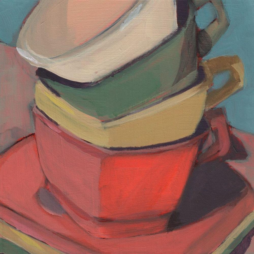 """Good to the Last Drop (#380)"" original fine art by Debbie Miller"