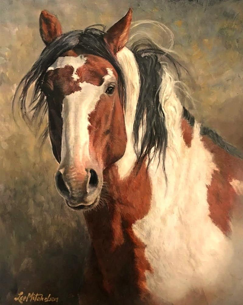 """""""Picasso in His Prime ~ Sand Wash Basin, Colorado"""" original fine art by Lee Mitchelson"""