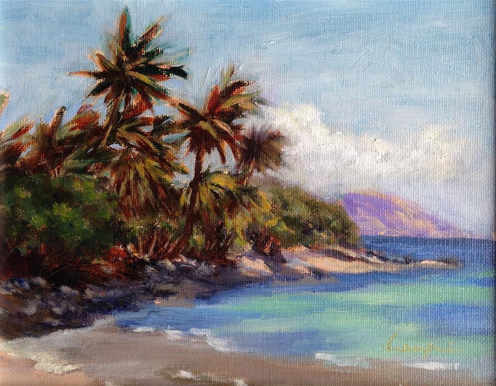 """East Maui"" original fine art by Frank and Liangni Nelson"