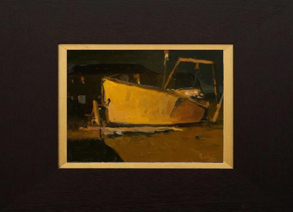 """Night Life"" original fine art by Randall Cogburn"
