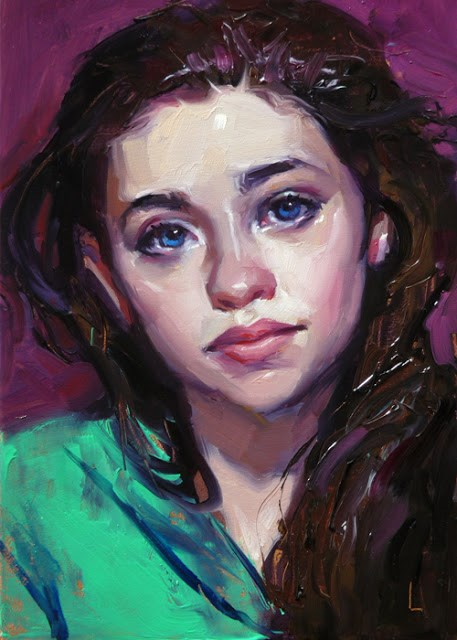"""Bright"" original fine art by John Larriva"
