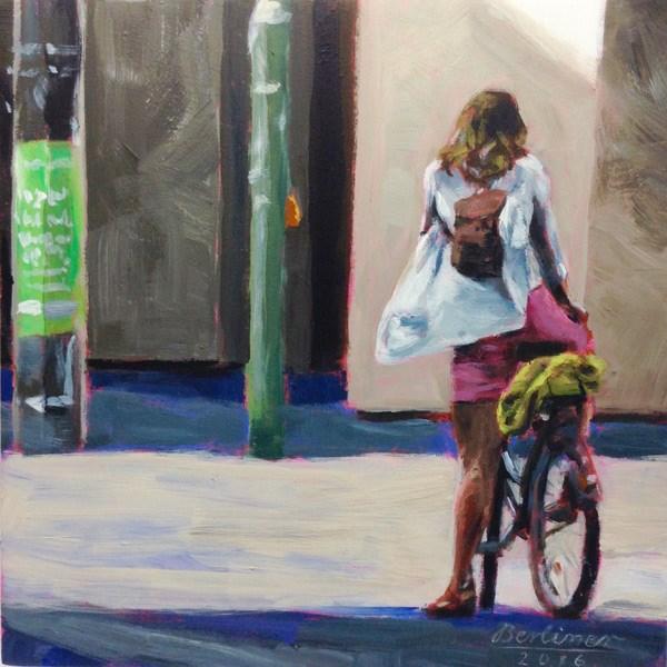 """""""061 Letztes Sonnenlicht"""" original fine art by Anja Berliner"""