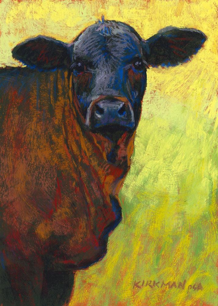 """""""Pepper"""" original fine art by Rita Kirkman"""