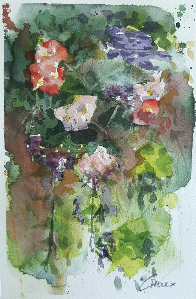 """""""Floral No.1"""" original fine art by Cory Proulx"""